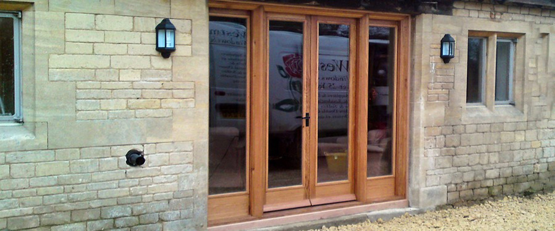 High Quality Hard Wood Traditional French Doors